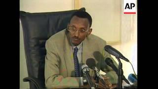 RWANDA: VICE PRESIDENTS KAGAME