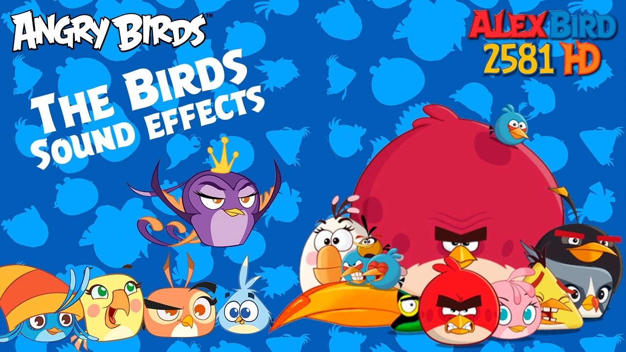 Angry Birds Toons: The Birds - Sound effects