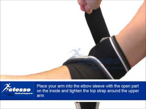 How to use the Actesso Elbow Support