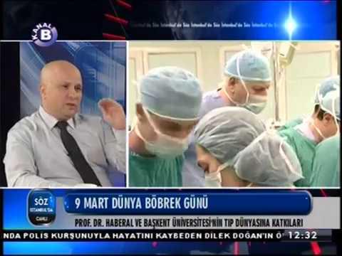 Kanal B | Söz İstanbulda 09.03.2017 | Prof. Dr. Eyüp KÜLAH | DÜNYA BÖBREK GÜNÜ