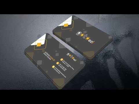 Business card design in Illustrator cc Tutorial 2019 thumbnail