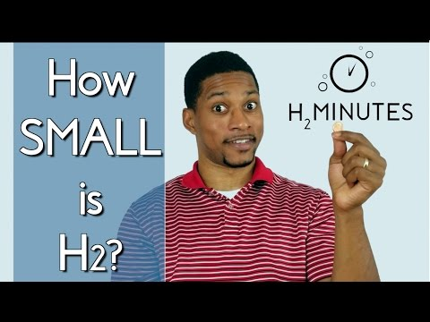 How SMALL is Molecular Hydrogen? (Episode 5)