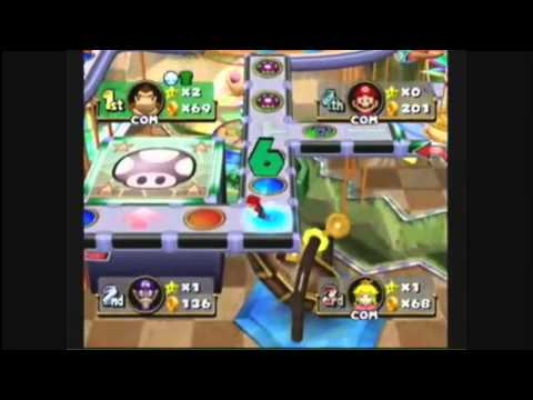 Mario Party 4 - Board Ranking