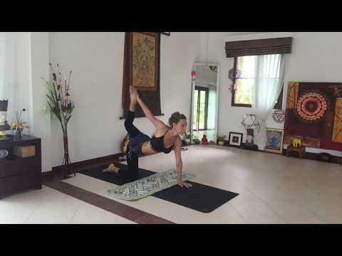 Хатха йога. Начальный уровень сложности.