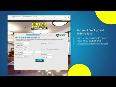 Online Signature Loan Walkthrough | DLC YouTube