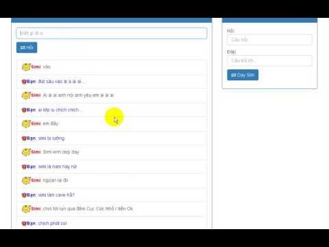 Chat Cùng Simsimi Online-Troll Thằng Simi