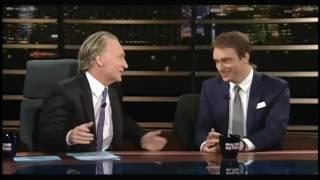 Bill Maher mimes Ivanka giving Donald Trump a handjob