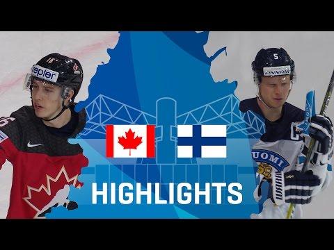 Canada - Finland | Highlights |#IIHFWorlds 2017