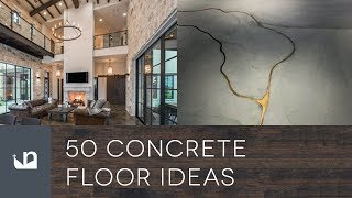 50 Concrete Floor Ideas