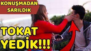 TOKAT YEDİK - Konuşmadan Türk Kızlarına Sarılma Deneyi