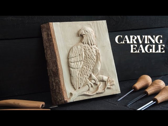 Carving a Wooden Eagle- Easy Wood Carving Ideas