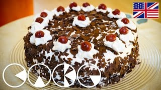 BLACK FOREST CAKE Recipe in 4K (Ultra HD)