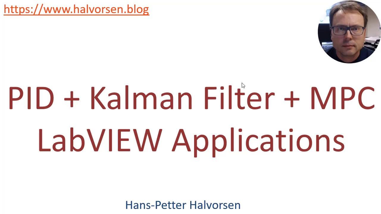 LabVIEW PID + Kalman Filter + MPC - Part 1
