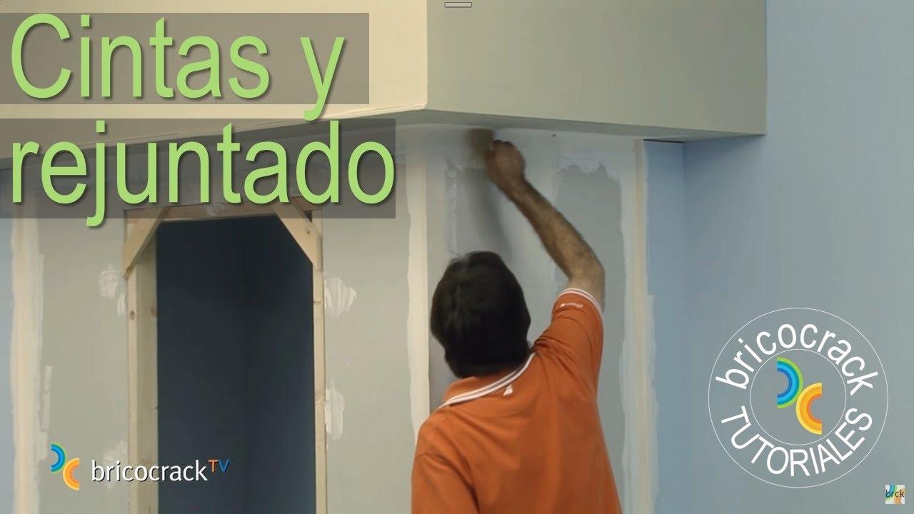 Construir tabiques de yeso laminado pladur 3 juntas for Colocar papel mural