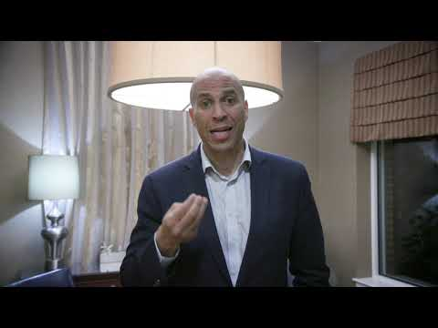 2020 Presidential Candidate Cory Booker's Message to AJC Global Forum