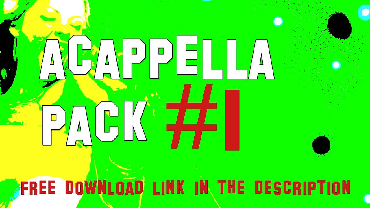 Well Acappella Pack # 1 - 2018 Dj Reggae Dancehall Radio - Vocals to Remix,  Best of Track