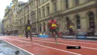 Tyson Gay 150m 14.51 Manchester Great City Games