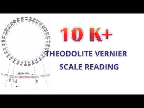 Theodolite Vernier Scale Reading In Malayalam