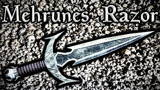 Skyrim SE - Mehrunes' Razor - Daedric Artifact / Unique Dagger Guide