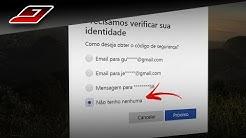 Como RECUPERAR senha do EMAIL da MICROSOFT (Outlook, Hotmail, Live)