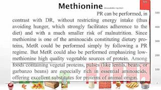 Methionine restriction as a life