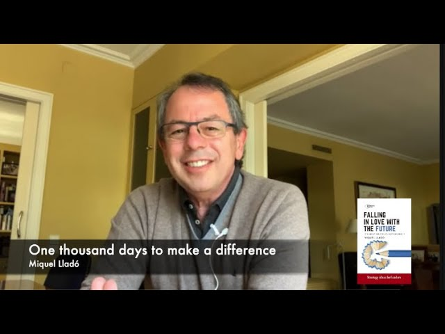 One thousand days to make a difference