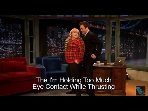 Rebel Wilson Dancing on Jimmy Fallon- HILARIOUS!