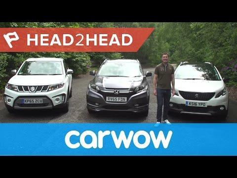 Suzuki Vitara vs Honda HR-V vs Peugeot 2008 review | Head2Head