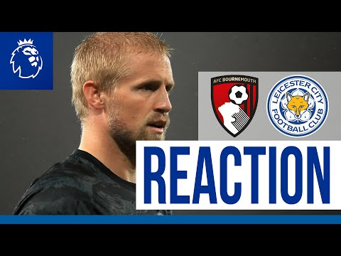 'We Have To Look At Ourselves' - Kasper Schmeichel | Bournemouth 4 Leicester City 1