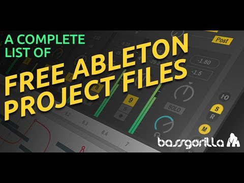 70 Free Ableton Projects Files - Complete List - BassGorilla com