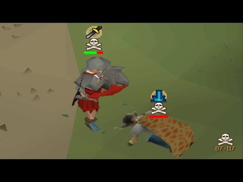 I dressed up as a noob in PvP
