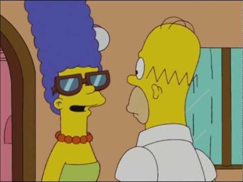 Beautiful Eyes by Homer Simpson