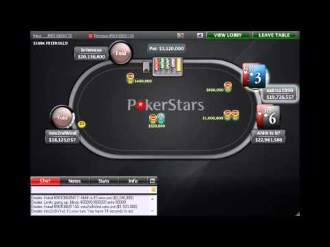 Russell Thomas' Sunday Million Final Table!