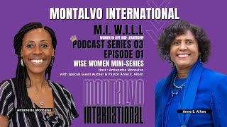 M.I. W.I.L.L. Podcast -- Series 3 Episode 1: The Power of Forgiveness with A.E. Aiken