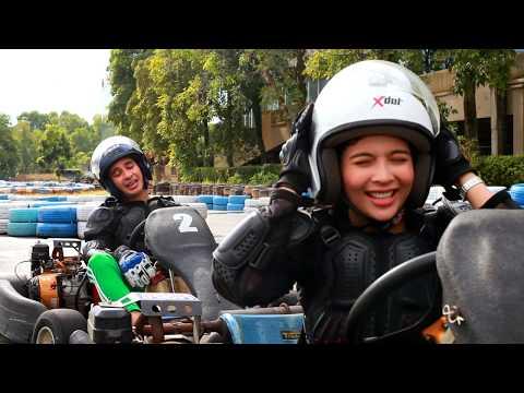 Riena Diana & Harris Annuar Lumba Go Kart   Pop! Games   POP TV