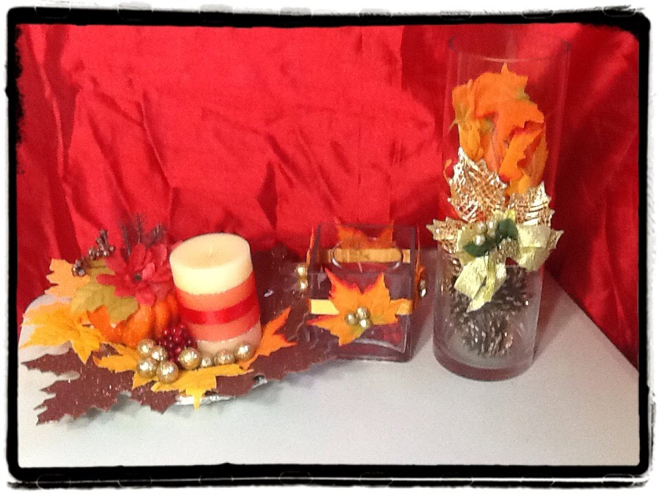 Diy Decoracion Para El Dia De Accion De Gracias Thanksgiving By