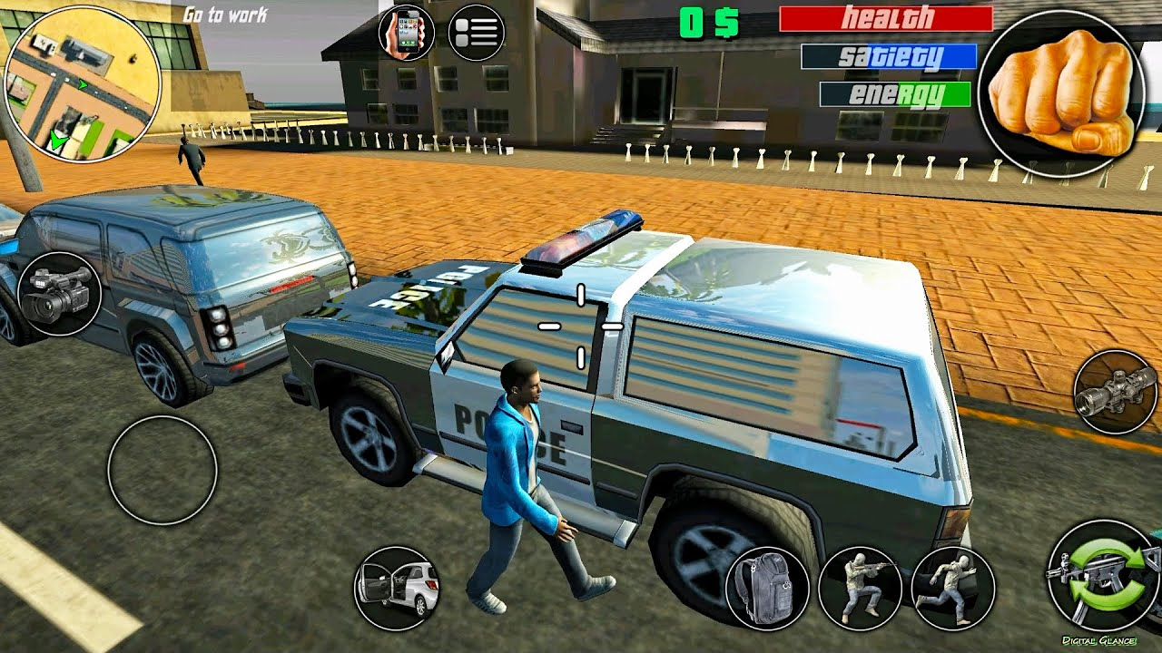 Mad Town Online | Android Gameplay GTA Mobile Android Games - YouTube