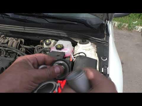 Как поменять термостат Chevrolet Cruze