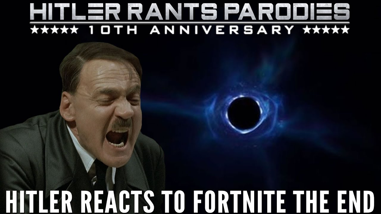 Hitler reacts to Fortnite The End