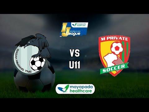 SS Gagak Rimang vs M'Private Soccer [Indonesia Junior Mayapada League 2018] [U11] 11-3-2018