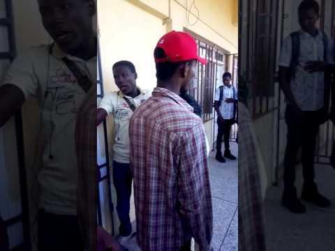 Accra University Student fighting