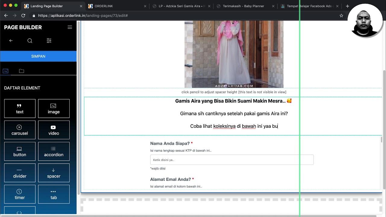 15. Cara Membuat Landing Page & Menduplikasi Website -- Tutorial ...