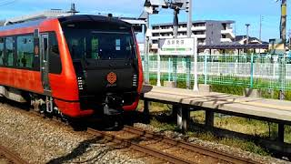《新型観光列車》海里 西新発田駅停車