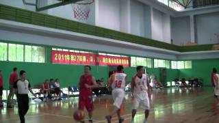 第27屆穗 深 港 澳四角元老籃球邀請賽 元老組別决賽 香港對深圳