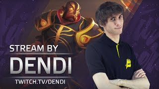 Dota 2 Stream: Na`Vi Dendi playing Ember Spirit (Gameplay & Commentary)