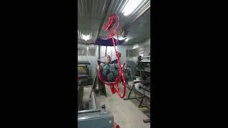 Велосипед для перемещения по тросу. Производство завода Геркулес (Люберцы)(На видео изображено испытание велосипеда для канатной дороги на производстве., 2016-12-20T06:00:03.000Z)