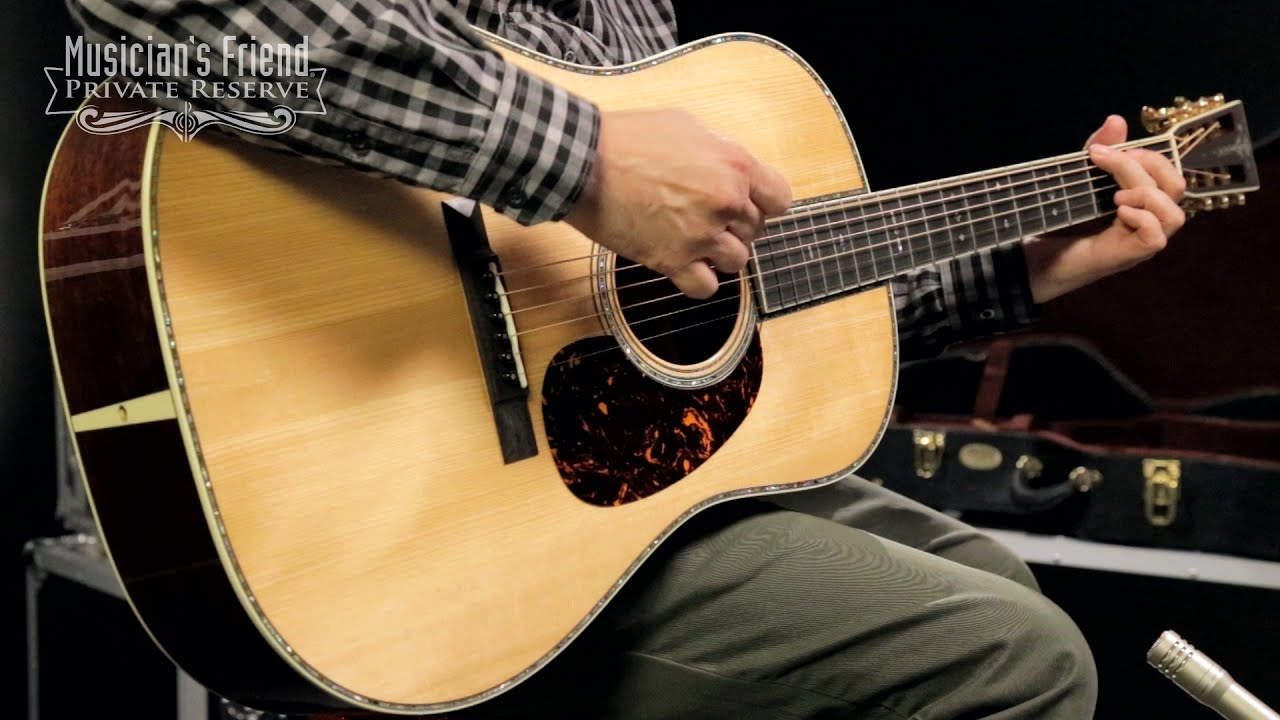 martin custom century series with vts d 42 12 fret dreadnought acoustic guitar youtube. Black Bedroom Furniture Sets. Home Design Ideas