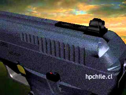 Sistema de carga y descarga de una pistola