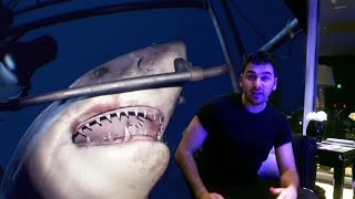 ATTACKED BY A SHARK AT HOME! (VR in Burj Khalifa)