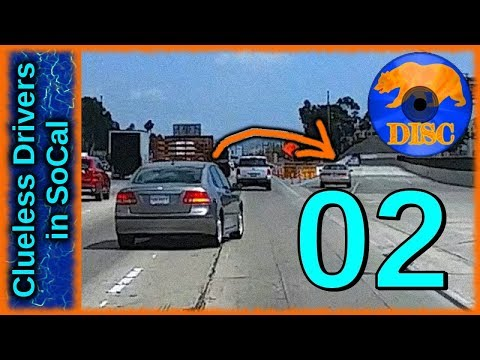 Bad Drivers of Los Angeles Basin 02 - Very Impatient People